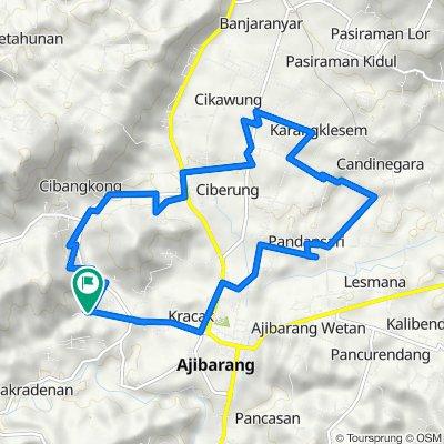 Unnamed Road, Ajibarang to Unnamed Road, Ajibarang