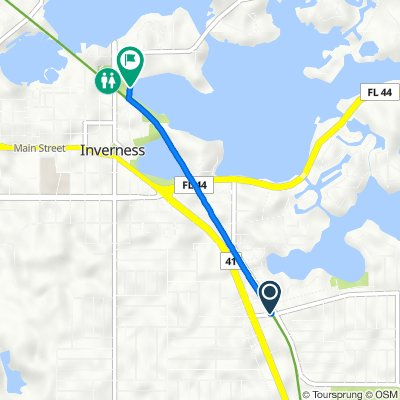 1056–1084 Eden Dr, Inverness to Withlacoochee State Trail, Inverness