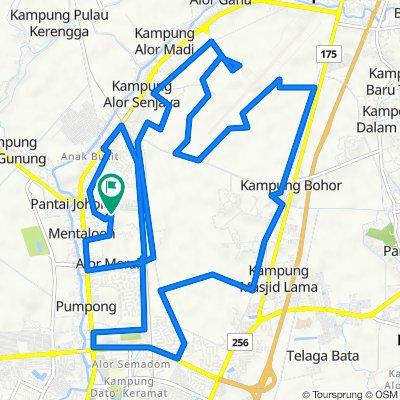 Long Route Via Batasban Kpla Batas
