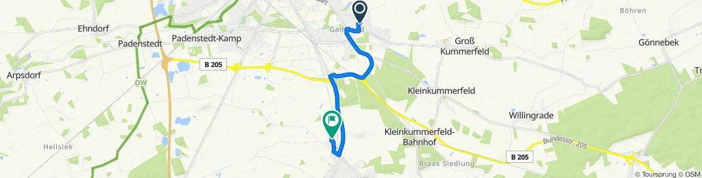 Op de Wisch 9, Neumünster nach Krützkamp 20, Boostedt
