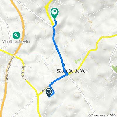 Rua das Caniças 397–421, Santa Maria da Feira to Travessa da Lavoura 44, Santa Maria da Feira