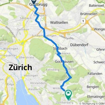 Sägereistrasse 24, Glattbrugg nach In der Deisten 6, Zollikerberg
