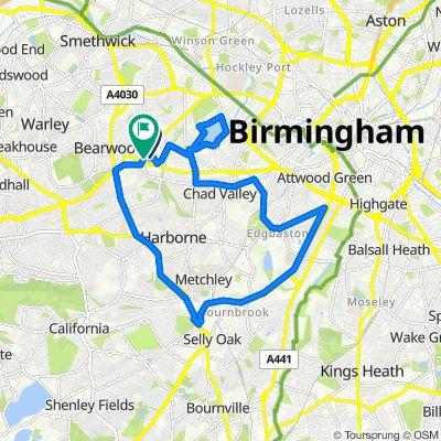 30A Carisbrooke Road, Birmingham to 3 Carisbrooke Road, Birmingham