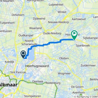 De Punt, Broek op Langedijk naar Koekoeksbloem 40, Opmeer