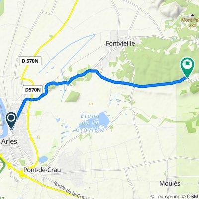 Tour des Alpilles - J1