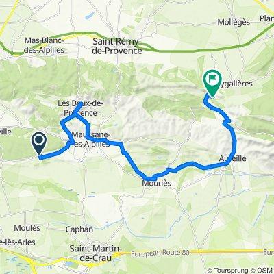 Tour des Alpilles - J2