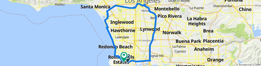 LA River to Ballona Creek Loop