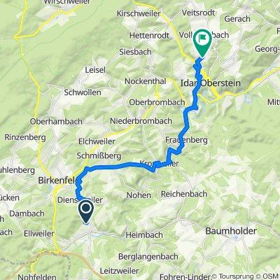 Am Hellinger 9, Hoppstädten-Weiersbach nach K36 108, Idar-Oberstein