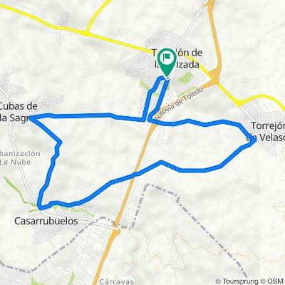 De Calle Real 56D, Torrejón de la Calzada a Calle Real 56D, Torrejón de la Calzada