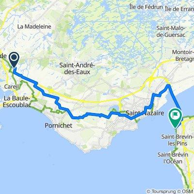 De 1 Avenue du Parc, Guérande à 3 Avenue de Vila, Saint-Brevin-les-Pins