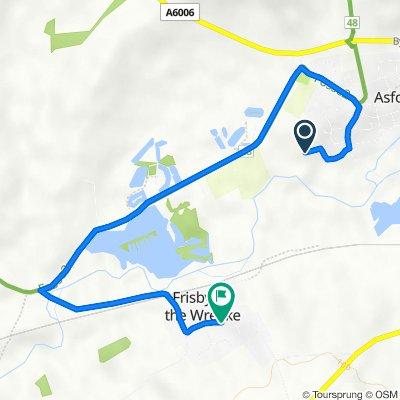 21 Leah Way, Melton Mowbray to 1 Yew Tree Barn, Mill Lane, Melton Mowbray