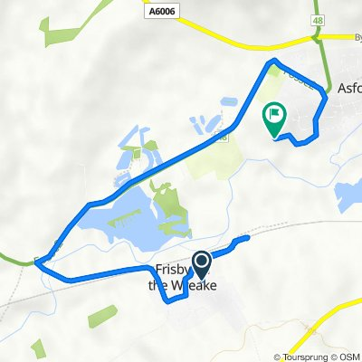 7 Orchard Cottage, Mill Lane, Melton Mowbray to 21 Leah Way, Melton Mowbray