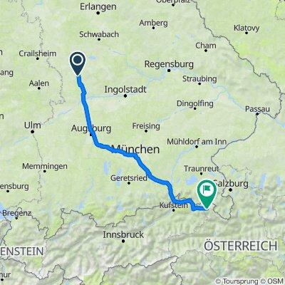 Oberappenberg 4, Polsingen nach Lofer 392, Lofer