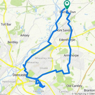 3 Brosley Ave, Doncaster to 6 Brosley Ave, Doncaster