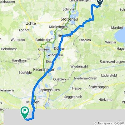 Brokeloher Dorfstraße 22, Landesbergen nach Freiherr-vom-Stein-Straße 998, Porta Westfalica