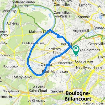 De 10 Rue Veuve Lacroix, La Garenne-Colombes à 6 Rue Veuve Lacroix, La Garenne-Colombes