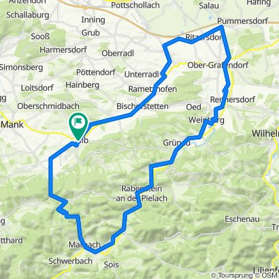 27.02.2021 Kilb-Marbach-Hofstetten-Ritzersdorf-Kilb