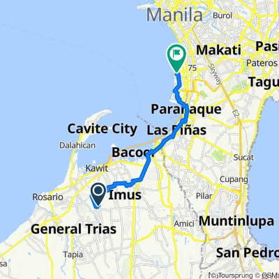 Fennel, Imus to Philippines, Pasay