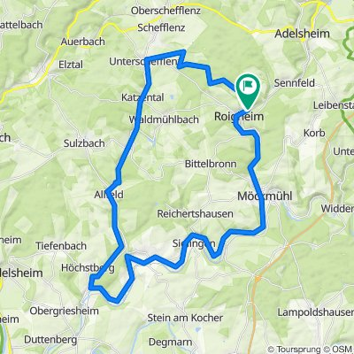 Authenrieth-Siedlung 1–15, Roigheim-Elmbachweg 2, Roigheim