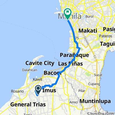 Daisy, Imus to Roxas Boulevard 1225, Manila