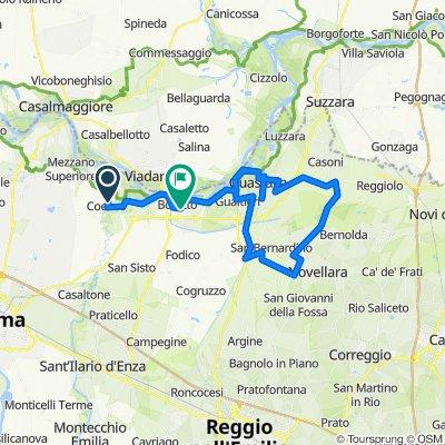 Da Strada Oppi, Sorbolo a Via Villamaggiore 10, Boretto