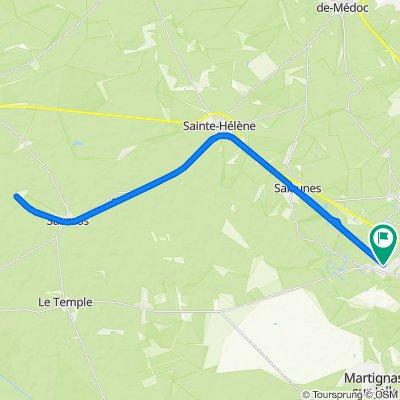 28 Rue Ambroise Paré, Saint-Médard-en-Jalles to 28 Rue Ambroise Paré, Saint-Médard-en-Jalles