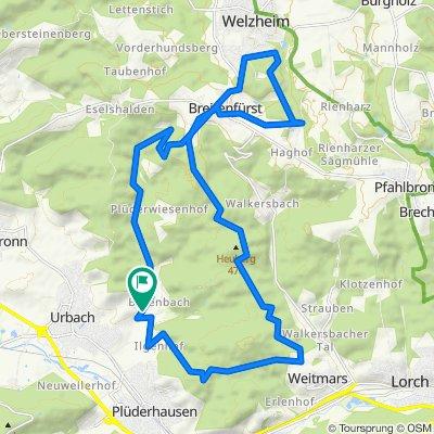 Weitmars-Bärenbach-Breitenfürst-Rundtour