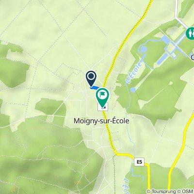 De 7 Rue de la Croix Blanche, Moigny-sur-École à 66 Grand rue, Moigny-sur-École