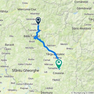 Румыния день 10   74км  набор высоты 751м   ночевка на высоте 560м