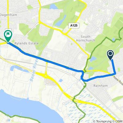 15 Danyon Close, Rainham to 2 Heathway, Dagenham