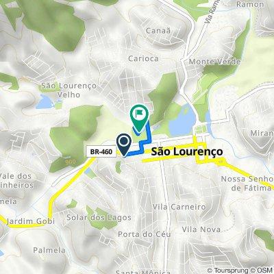 De Rua Alda Garrido, 200–312, São Lourenço a Rua Saturnino da Veiga, 313, São Lourenço