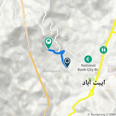 Circular 6, Abbottabad to شملہ پہاڑی روڈ, Abbottabad