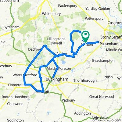 3 Church Close, Milton Keynes to 3 Church Close, Milton Keynes