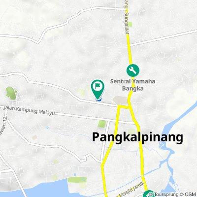 Jalan Mawar I f10, Gerunggang to Jalan Mawar I f10, Gerunggang
