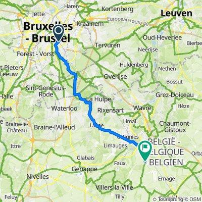 Bruxelles - Mont-St-Guibert