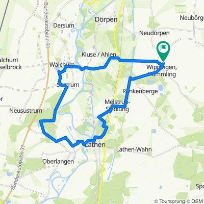 Baggersee Fresenburg, Niederlangen, Walchum