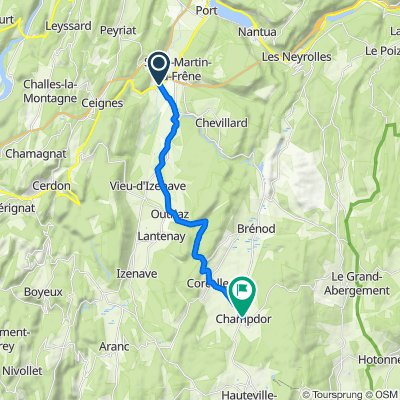 De 82 Route des Grands Moulins, Maillat à 100 Place de la Mairie, Champdor