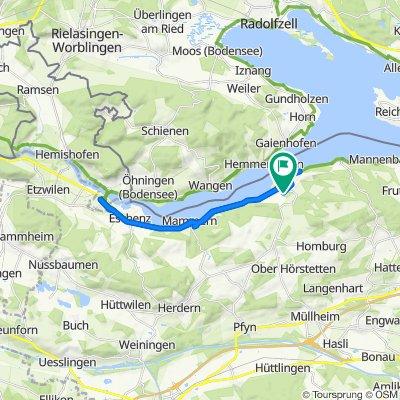 Birkenweg 8, Steckborn nach Birkenweg 7, Steckborn
