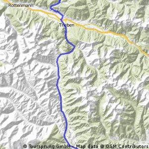 Admont-Pöls - 3.Etappe