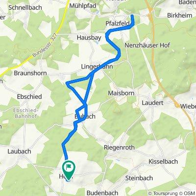 von Horn nach Pfalzfeld