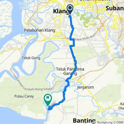Jalan Bukit Jati 1b 41, Klang to Jalan Bukit Jugra, Banting