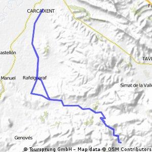 Carcaixent - Buixcarró - Pinet