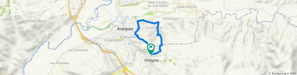 De Calle Júcar 5, Ontígola a Calle Júcar 5, Ontígola