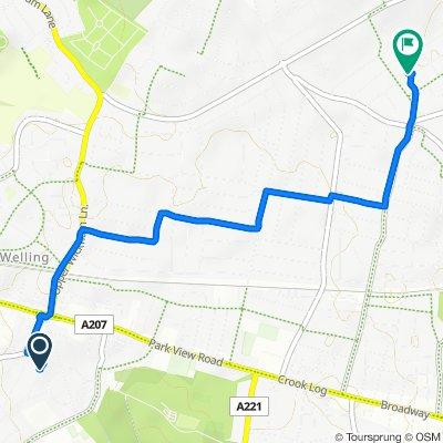41 Lancelot Road, Welling to 71 Chessington Ave, Bexleyheath