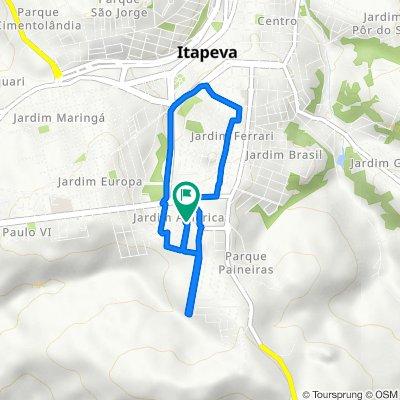 De Rua Argentina, 140–246, Itapeva a Rua Grécia, 122, Itapeva