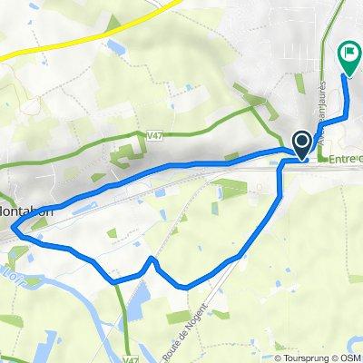 De 6 Route de Nogent, Château-du-Loir à 41 Rue de la Pitoulière, Château-du-Loir
