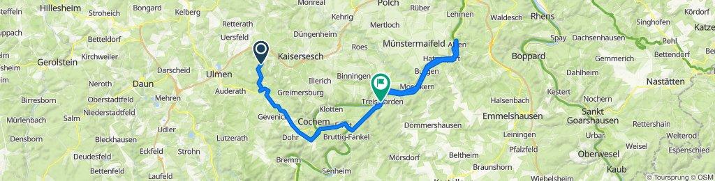 Holzweg 7, Müllenbach nach Moselallee 29–37, Treis-Karden