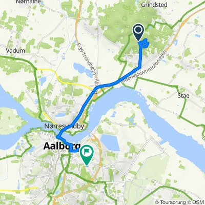 Mtb End, Vodskov to Hadsundvej 124A, Aalborg