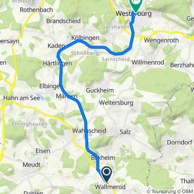 Bahnhofstraße 12, Verbandsgemeinde Wallmerod nach Auf dem Fels 3, Westerburg
