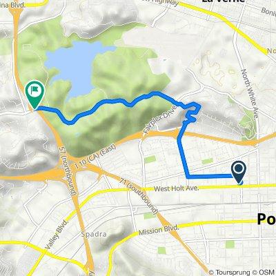 William Street 830, Pomona to Via Verde Drive 174, San Dimas